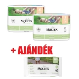 MOLTEX Pure&Nature öko pelenka 2, mini (3-6 kg) DUO PACK 2x38db