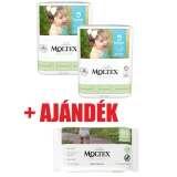 MOLTEX Pure&Nature öko pelenka 5, junior (11-25 kg) DUO PACK 2x25db