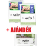 MOLTEX Pure&Nature öko pelenka 6, XL (16-30 kg) DUO PACK 2x21db