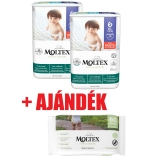 MOLTEX Pure&Nature öko bugyipelenka 6, XL(14+kg) DUO PACK 2x18db