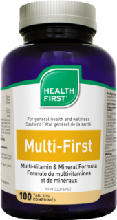 Health First Multi-First Multivitamin, 42 összetevő (100 db)