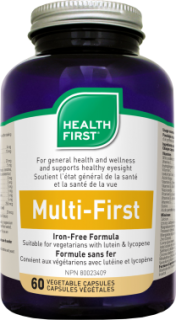 Health First Multi-First Vasmentes Multivitamin (60 db)