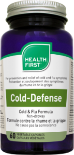 Health First Cold-Defense - A megfázás tüneteire (60 db)
