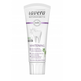 Lavera Basis Fogkrém Whitening VEGÁN, 75ml