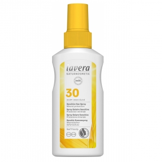 Lavera SUN Sensitive napvédő spray SPF30, 100ml