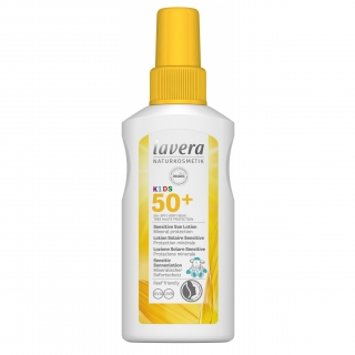 Lavera SUN Sensitive Gyermek napvédő spray SPF50, 100ml