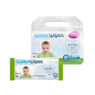 WaterWipes Soapberry nedves törlőkendő VALUE PACK, 4x60db