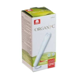 Organyc 100% organikus tampon applikátorral, super plus (14 db)