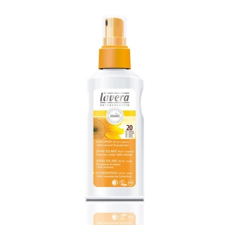 Lavera SUN napvédő spray SPF 20, 125 ml